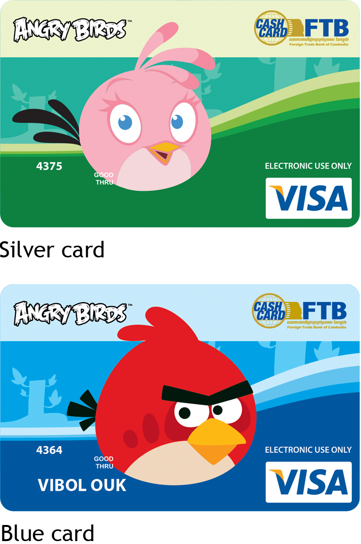 FTB-Wing pre-paid VISA cash card