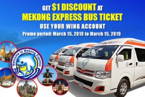 Get $1 off your Mekong Express bus ticket