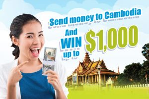Send anywhere to Cambodia via Wing and Win up to $1,000