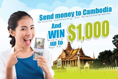 Send Money to Cambodia This Month for A Final Chance to Win Grand Prizes