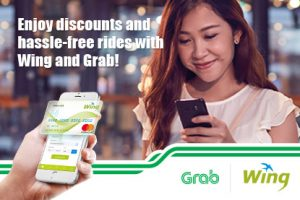 Made for Tripper!<br /> Enjoy Free Grab Ride with Wing Online Mastercard!