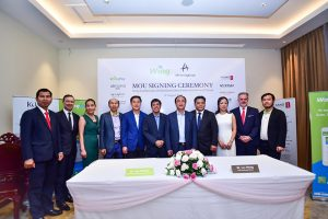 Wing and Almond Group Partner for Customer Cashless Payment Experience