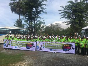 Wing Mobilises Its Staff and the Cambodian Public to Join World Cleanup Day