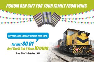 Ride a Train to Your Homeland for Just a Cent and Get a Free Krama