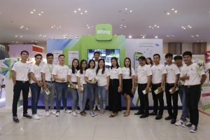 Wing Lends Assistance to Cambodia's Youth at 2018 National Career