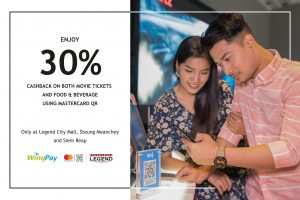 30% off at Legend with Mastercard QR