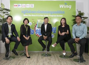 Wing Meets with The Winners of Its New Radio Program