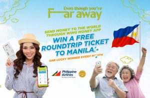 Send money to the world through Wing Money App to stand a chance to win FREE roundtrip flight ticket to Manila