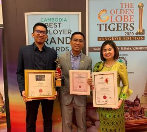 Wing Wins Cambodia Best Employer Brand Awards 2020