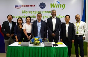 Wing joins Smile Cambodia to support the patients with Facial Deformities